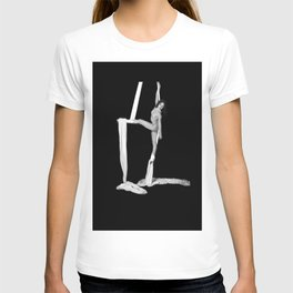 Jill Nude with Silks T-shirt