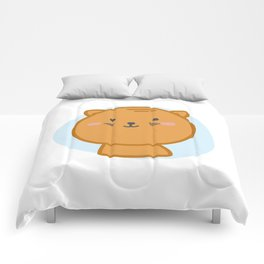 moew *i can customize your cat Comforters