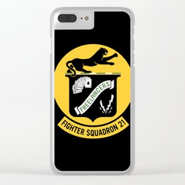 Fighter Squadron Twenty One VF-21 Freelancers Clear iPhone Case