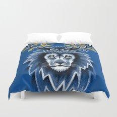 Deer Lion Duvet Cover