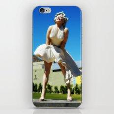 Giant Marilyn iPhone & iPod Skin