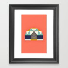 Geodesic Dome Framed Art Print