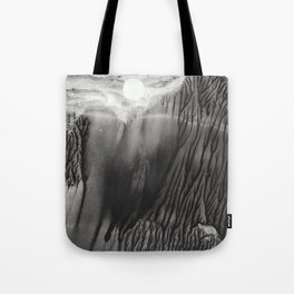 Blackwater Park - abstract watercolor monotype Tote Bag