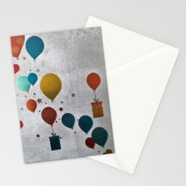precents and balls Stationery Cards