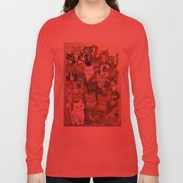 1000 cats Long Sleeve T-shirt