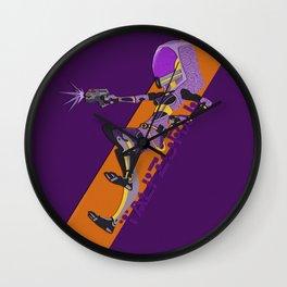 Tali'Zorah Wall Clock