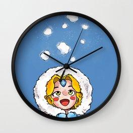 Cute Crystal Maiden Wall Clock