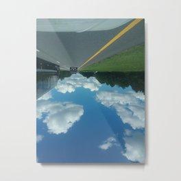 Walking on Clouds Metal Print