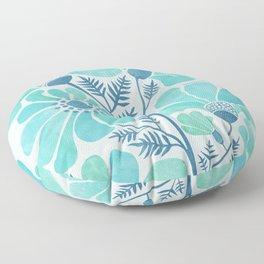 Himalayan Blue Poppies Floor Pillow