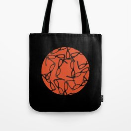 Hipster Bloodbath Tote Bag