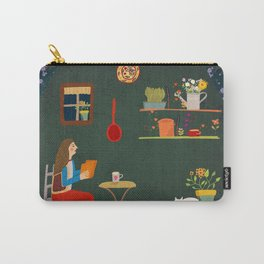 No place like home- Illustration Carry-All Pouch