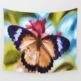 Beautiful Monarch Butterfly Wall Tapestry