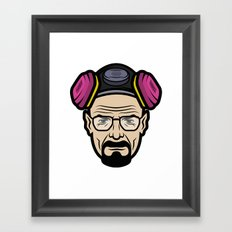 Walter White (Breaking Bad) Framed Art Print