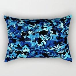 Royal Blue Craze.... Rectangular Pillow