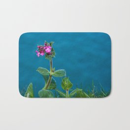 Red Campion on the Cliff Top Bath Mat