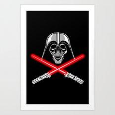 Vader's Bones Art Print