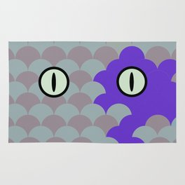 Chesire Scales - Cat Eye - Wonderland Rug