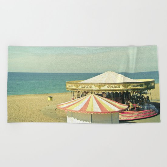 Fair by the Sea Beach Towel