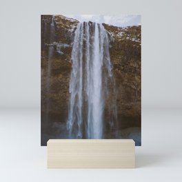 Seljalandsfoss Waterfall Mini Art Print
