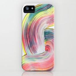 Waves Of Colour II iPhone Case