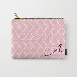 Pattern Monogram  Carry-All Pouch