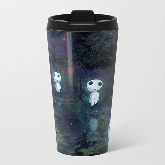 Princess Mononoke - The Kodama Metal Travel Mug