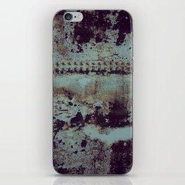 industrial rust iPhone Skin
