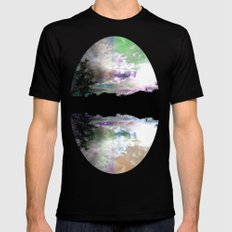 Fantasy of a Blind Reality Black Mens Fitted Tee MEDIUM