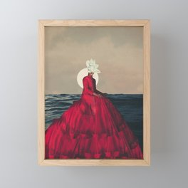 Distant Fragility Framed Mini Art Print