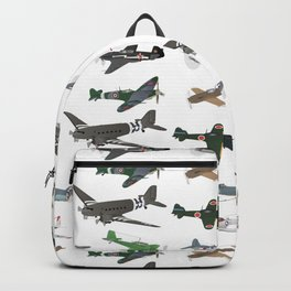 Multiple WW2 Airplanes Backpack
