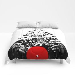 Vinyl shatter Comforters