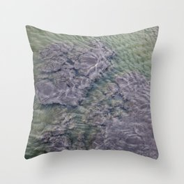 Water Currents No2 Throw Pillow
