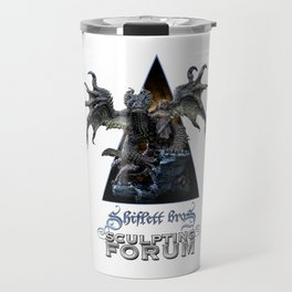Talula and the Stray / Shiflett Bros. Sculpting Forum Logo Travel Mug