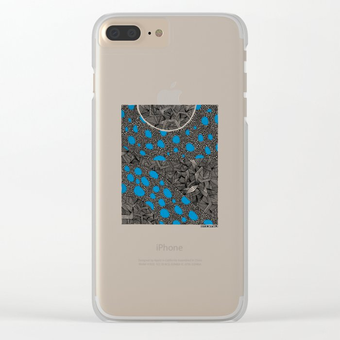 - cosmos_04 - Clear iPhone Case