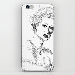 sketch iPhone Skin