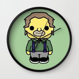 lenny style pin y pon Wall Clock