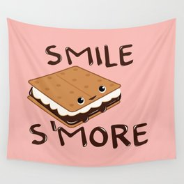 Smile S'more Wall Tapestry