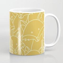 Minimalist Red Fox Coffee Mug