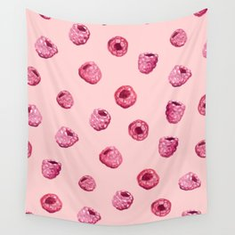 Raspberry Field Wall Tapestry