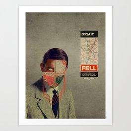 Fell Art Print