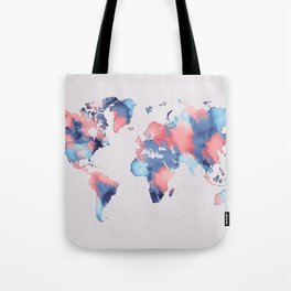 map world map 58 Tote Bag