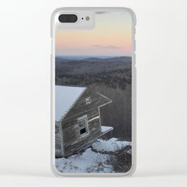 Salmon Clear iPhone Case