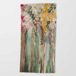 Woods in Spring Beach Towel