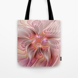 Abstract Butterfly, Fantasy Fractal Tote Bag