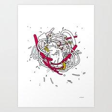 Anatomy Party Art Print