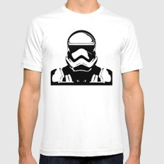 Trooper  SMALL Mens Fitted Tee White