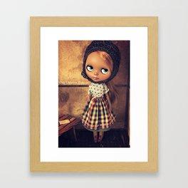 My Delicious Bliss Custom Doll Angelique Framed Art Print
