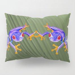 Tree Frog Pillow Sham
