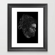 Max Roméo Framed Art Print