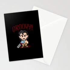 Evil Dead Pixels Stationery Cards